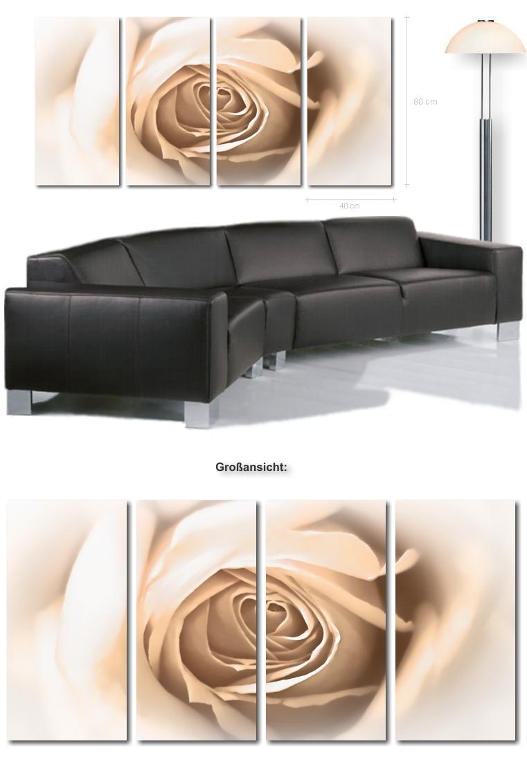 Ultra moderne bilder xxl bild rose auf leinwand for Moderne kunstdrucke auf leinwand