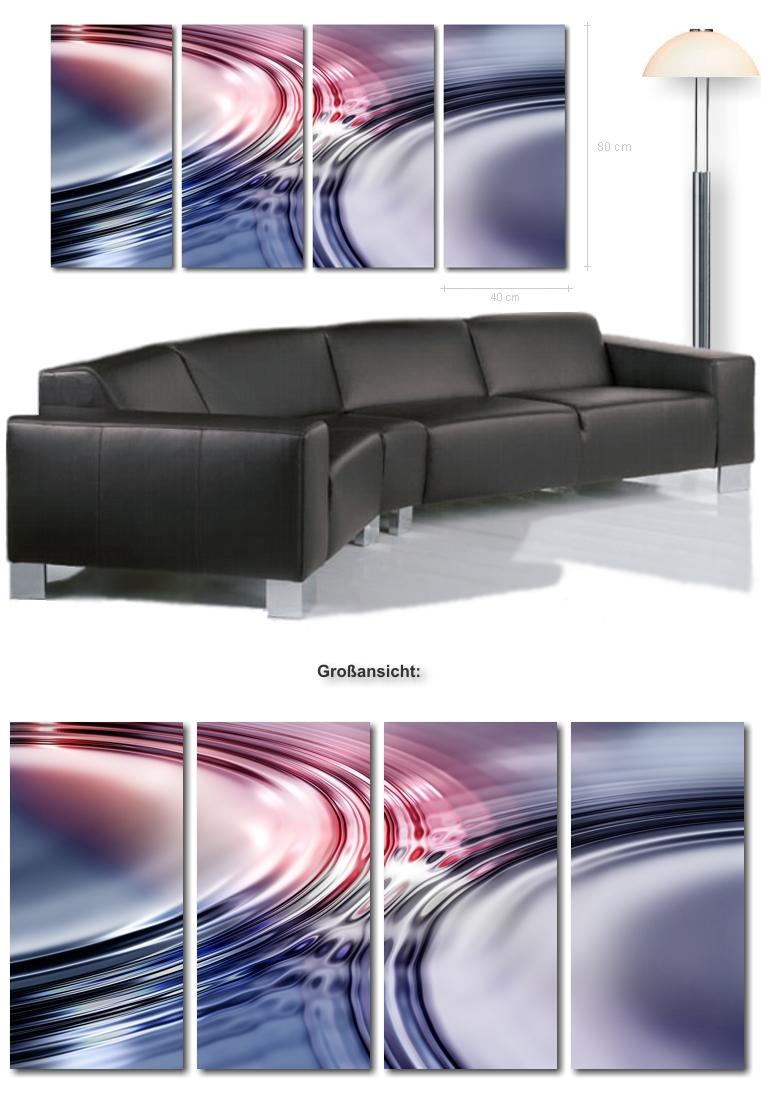 Ultra Moderne Bilder! XXL Bild Wasser Wanddeko Abstrakt auf leinwand ...