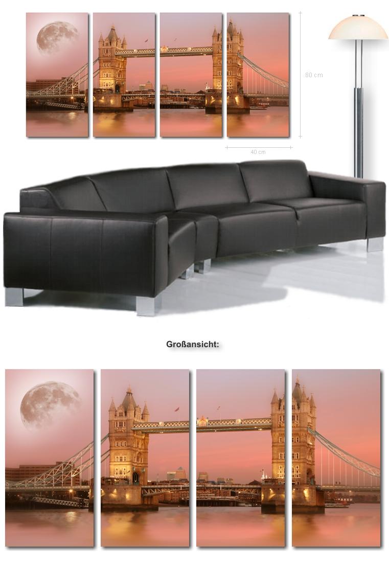 XXL Bilder - Kunstdruck London - Ultra Moderne Keilrahmenbilder ...