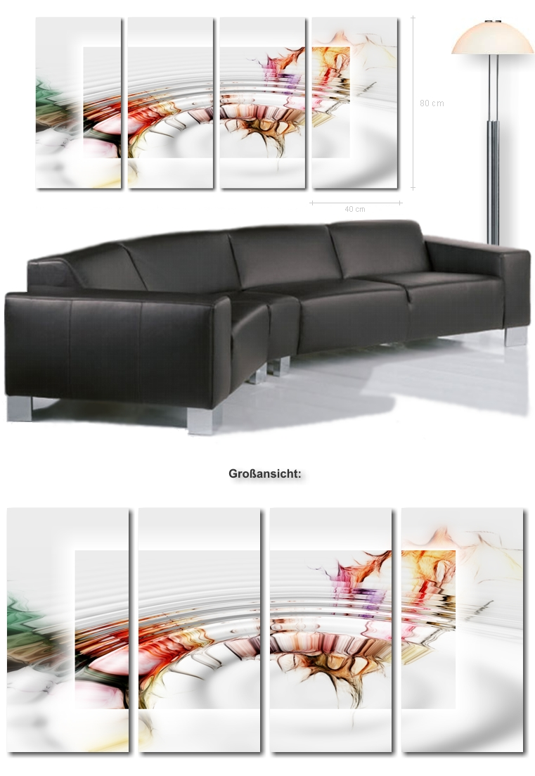 mehrteilige wandbilder orchidee alles ber wohndesign und m belideen. Black Bedroom Furniture Sets. Home Design Ideas
