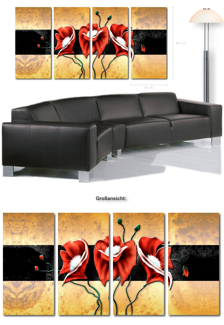 4123 wandbilder. Black Bedroom Furniture Sets. Home Design Ideas